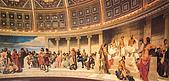 世界傳世名畫:大艺术家们的集会.jpg
