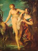 世界傳世名畫:公园里的浴女.jpg