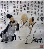 中國現代十大名家之李可染作品欣賞:三酸图.jpg