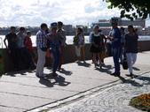 2013.7.16-25跟阿嬤們遊俄羅斯:day2-奧羅拉巡洋艦旁的著裝街頭藝人-1