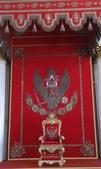 2013.7.16-25跟阿嬤們遊俄羅斯:day2-冬宮-寶座廳拜占庭標誌雙頭鷹歐亞兩週都要看看
