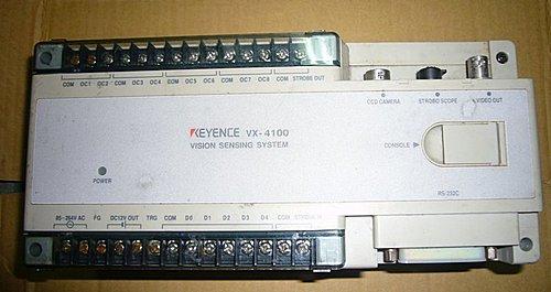 KEYENCE 基恩斯VX-4100 VISION SENSING SYSTEM @ 樺陽空油壓五金