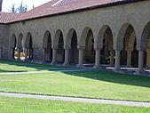 史丹佛之行:教堂迴廊