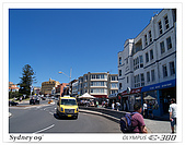 981030Sydney:Bondi beach算是澳洲相當著名的海灘