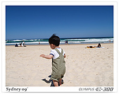 981030Sydney:開始在沙灘上奔跑