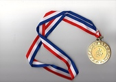 100.2.19~20山鹿隊聯誼聚餐及參加高雄馬:100.2.19高雄馬獎牌正面